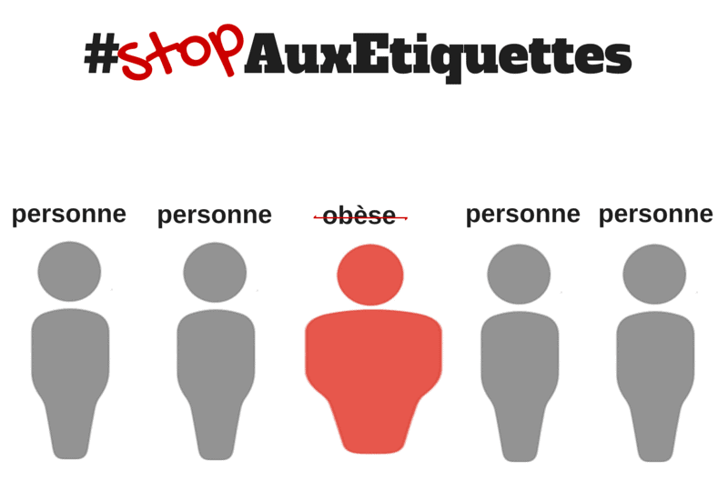 obese, stopauxetiquettes, discrimination, langage, maladie, obesite
