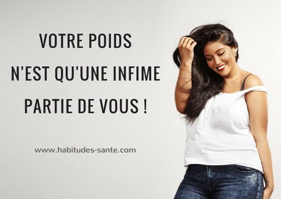 Votre poids n'est qu'une infime partie de vous, citation - www.sandrafm.com ************* image de soi, image corporelle, se reconcilier avec son corps, maigrir, poids, surpoids, obésité, aimer son corps