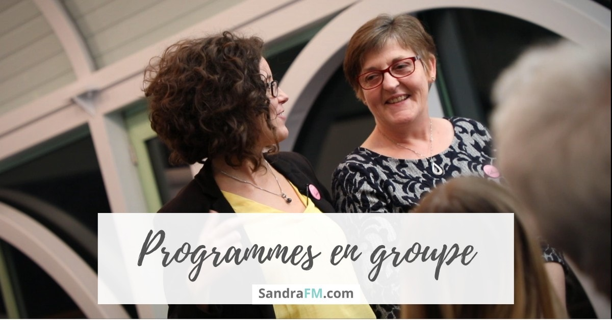 programmes en groupe, sandra fm, stages, immersion, workshops, ateliers