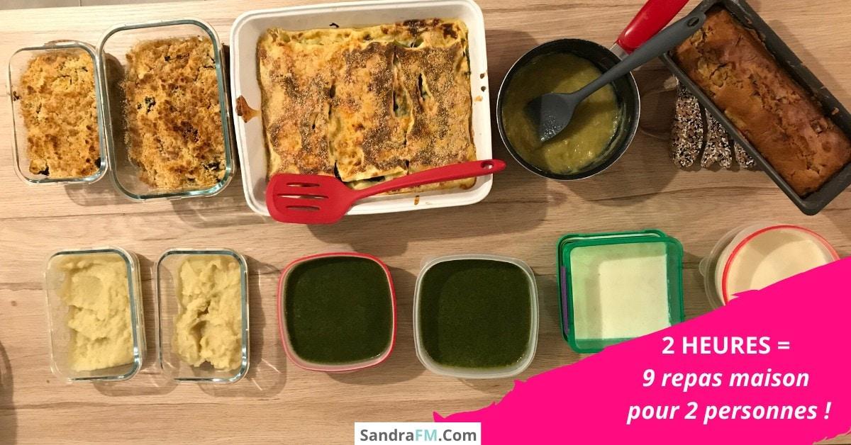 Revolution cuisine, catherine piette, organisation cuisine, batchcooking